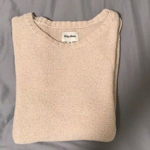 Rhythm crewneck sweater